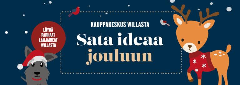 Willaan tunnelmallinen joulumaa